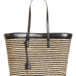 Stripe Straw Shopper | Nordstrom