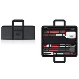 Expert Grill Stainless Steel Soft Grip BBQ Grill Tool Set, 10-Piece   Walmart (US)