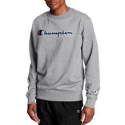 Champion Men's Powerblend Graphic Crew Sweatshirt   Walmart (US)