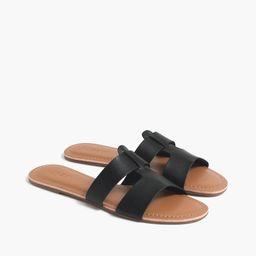 Beachside slide sandals   J.Crew Factory