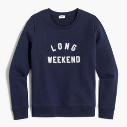 Graphic sweatshirt   J.Crew Factory