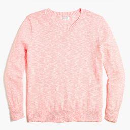 Crewneck beach sweater   J.Crew Factory