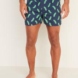 Soft-Washed Printed Boxer Shorts for Men | Old Navy (US)