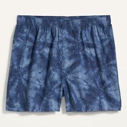 Printed Soft-Washed Boxer Shorts for Men | Old Navy (US)