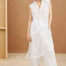 Lyocell-blend Shirt Dress   H&M (US)