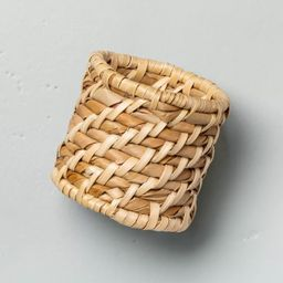4pc Woven Napkin Ring Set - Hearth & Hand™ with Magnolia   Target