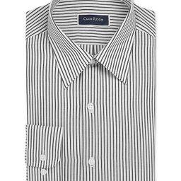 Men's Classic/Regular-Fit Stripe Dress Shirt, Created for Macy's | Macys (US)