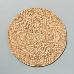 """13"""" Woven Plate Charger - Hearth & Hand™ with Magnolia   Target"""