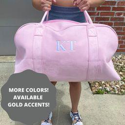 Personalised Bag / Duffle Bag / Baby Bag / Monogrammed Weekender Bags / Hospital Bag / Gracie Duf... | Etsy (US)