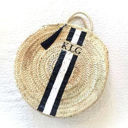 Personalized Round straw basket Straw Totes Custom french basket summer handbag market basket mor...   Etsy (CAD)