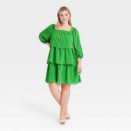 Women's Balloon Long Sleeve Dress - Who What Wear™   Target