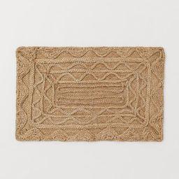Braided Jute Doormat   H&M (US)