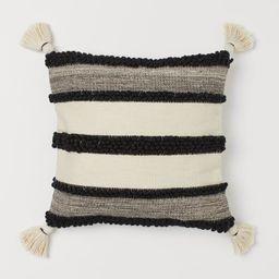 Tasseled Cushion Cover   H&M (US)