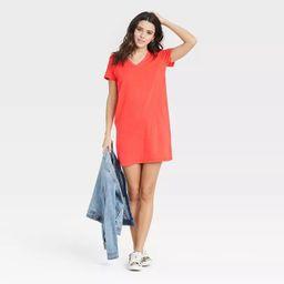 Women's Short Sleeve T-Shirt Dress - Universal Thread™   Target