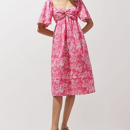 Peter Som for Anthropologie Floral Mini Dress | Anthropologie (US)