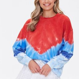 French Terry Tie-Dye Pullover | Forever 21 (US)