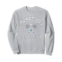 Hamptons Tennis Club Preppy New York Montauk Varsity Sweatshirt   Amazon (US)