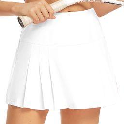 Raroauf Women's Athletic Skorts Lightweight Active Skirts with Shorts Running Tennis Golf Workout...   Amazon (US)