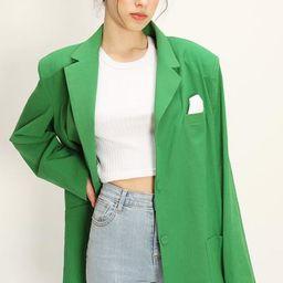 Brianna Oversized Handkerchief Blazer   Storets (Global)