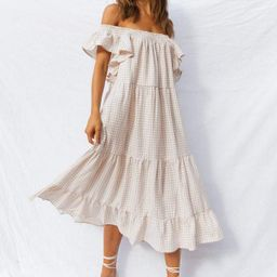 Eaco Dress - Beige | Petal & Pup (US)