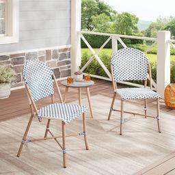 Better Homes & Gardens Parisian Armless Chair, Multiple Colors, Set of 2   Walmart (US)