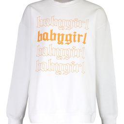 Baby Girl Oversized Sweatshirt   Boohoo.com (US & CA)