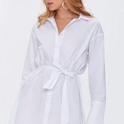 Belted Mini Shirt Dress | Forever 21 (US)