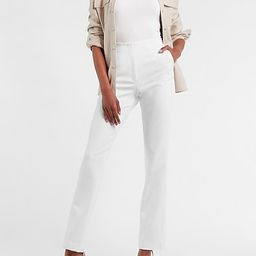 High Waisted Supersoft Twill Pull-On Bootcut Pant | Express