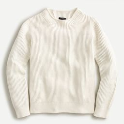 Rollneck pullover sweater   J.Crew US
