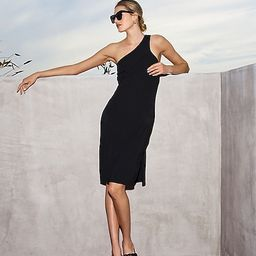 Body Contour One Shoulder Sheath Dress | Express