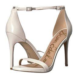Sam Edelman Ariella Strappy Sandal Heel (Bright White Nappa Luva Leather) Women's Shoes | Zappos
