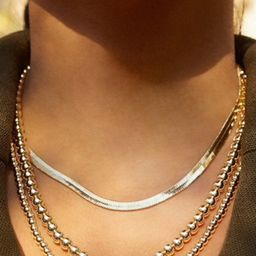 Herringbone Chain   The Styled Collection