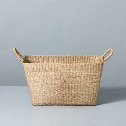 Woven Seagrass Basket with Handles - Hearth & Hand™ with Magnolia | Target