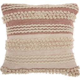 Nourison Life Styles Texture Stripes Throw Pillow | Target