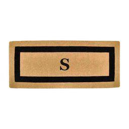 Classic Border Monogrammed Coco Door Mat | Frontgate | Frontgate