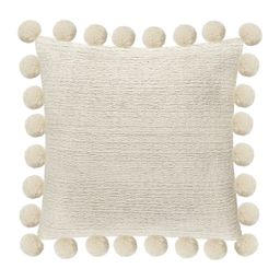 Sonoma Goods For Life® Ultimate White Poms Feather Fill Throw Pillow | Kohl's