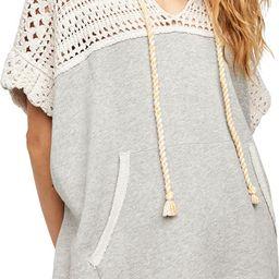 Honey Bear Crochet Hooded Shirt Dress | Nordstrom Rack
