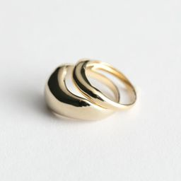 Two Pack Rings - Gold | & Other Stories