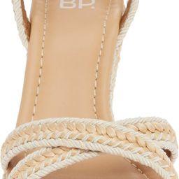 Gabby Woven Wedge Sandal | Nordstrom Rack
