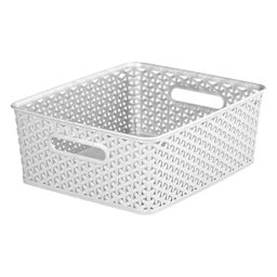 Y-Weave Medium Decorative Storage Basket - Room Essentials™   Target