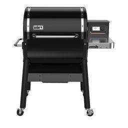 Weber Smokefire EX4 Pellet Grill Smoker 2nd Generation Wood Fired | Walmart (US)