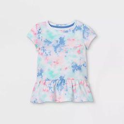 Toddler Girls' Peplum T-Shirt - Cat & Jack™   Target