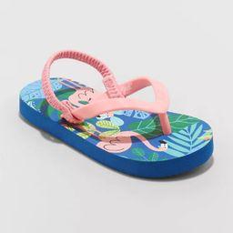 Toddler Adrian Slip-On Flip Flop Sandals - Cat & Jack™   Target