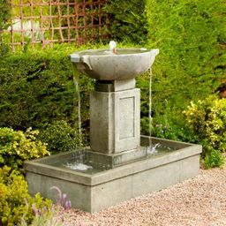 Brielle Cast-stone Fountain | Frontgate | Frontgate