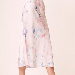 Sadie Tie-Dye Midi Skirt | French Connection (US)