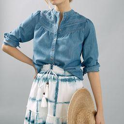 Pilcro Tie-Dye Mini Skirt | Anthropologie (US)
