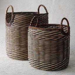 Kiki Woven Baskets | Frontgate | Frontgate
