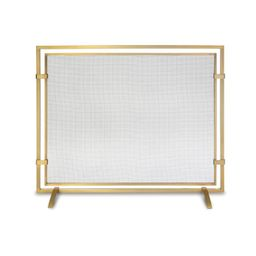 Sinclair Single Panel Fireplace Screen | Frontgate | Frontgate