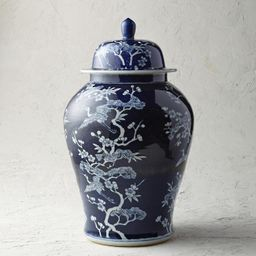Deep Indigo Ming Ceramic Collection | Frontgate | Frontgate