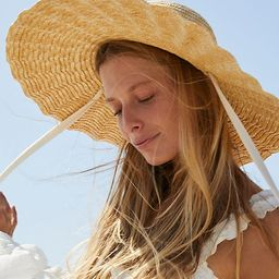 Scalloped Straw Hat | Free People (US)